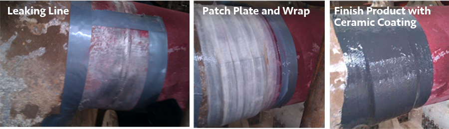 PIPE REPAIR, PROTECTION, WRAPPING
